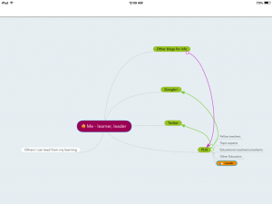 mind map PLN